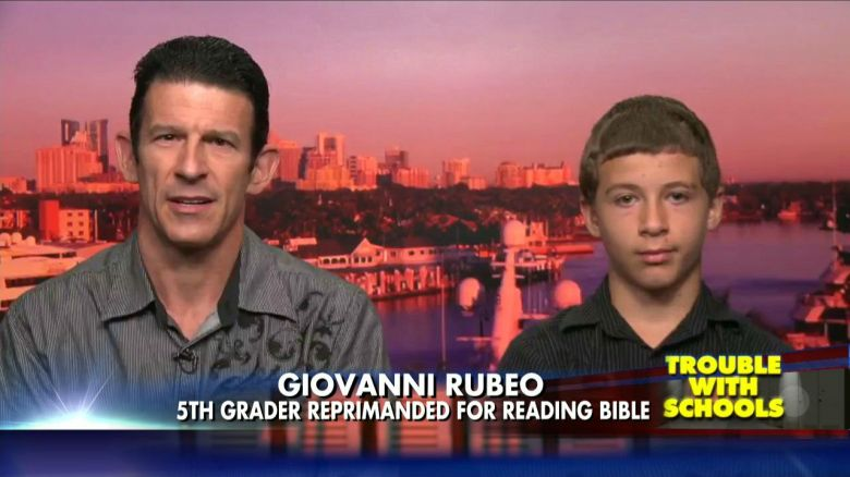 A Human Right Question: Teacher Bans Pupil from Reading Bible During Free Reading Time