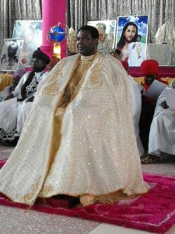 Traditional Rulers from Northern Nigeria Honours Hezekiah