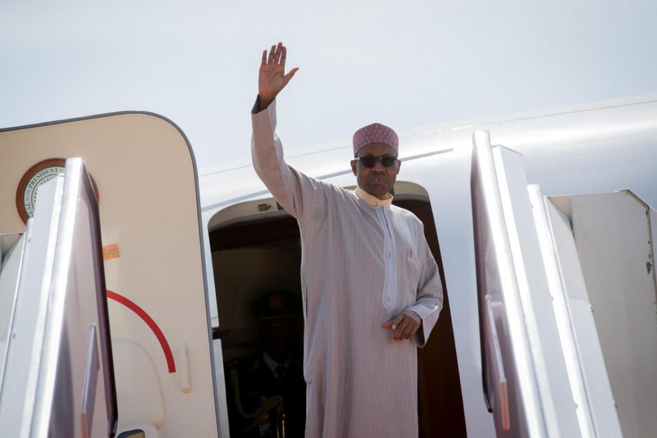 NIGERIA'S JUNKETING PRESIDENT