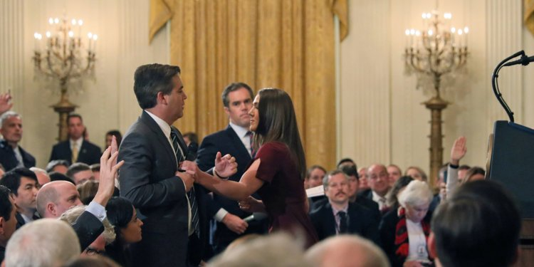 CNN'S JIM ACOSTA DISGRACE TO JOURNALISM