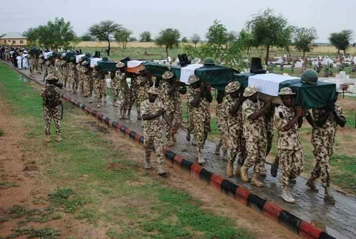 NIGERIAN AUTHORITIES ACCUSED OF COMPLICITY IN KILLING OF OVER 100 SOLDIERS
