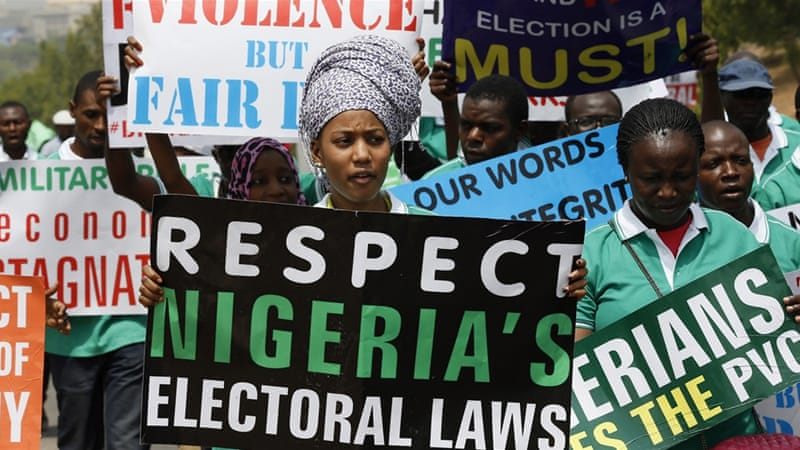 PRESS RELEASE – NIGERIAN ELECTIONS