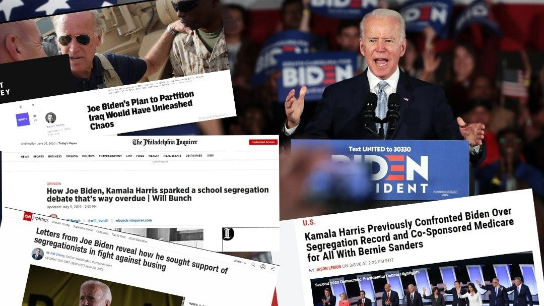 JOE BIDEN – THE CHRONIC RACIST WHO HOPES TO END RACISM